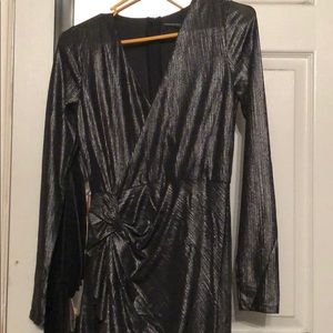 Guess black shimmer dress size small